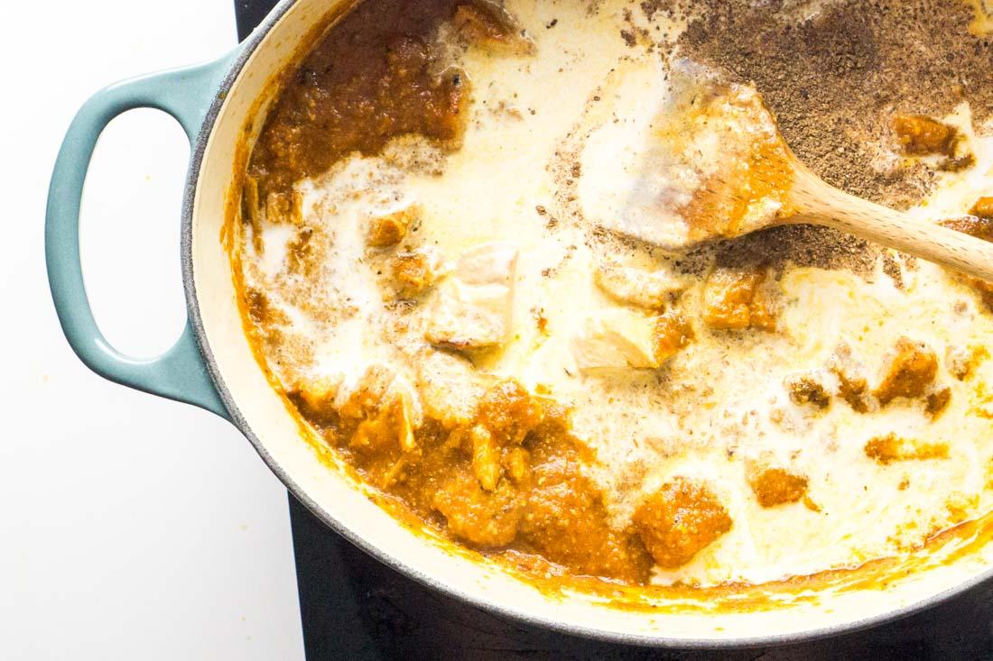 Butter Chicken Murgh Makhani -11
