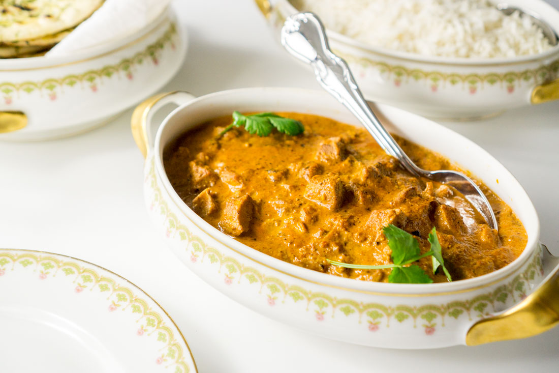 Indian Butter Chicken Curry (Murgh Makhani)