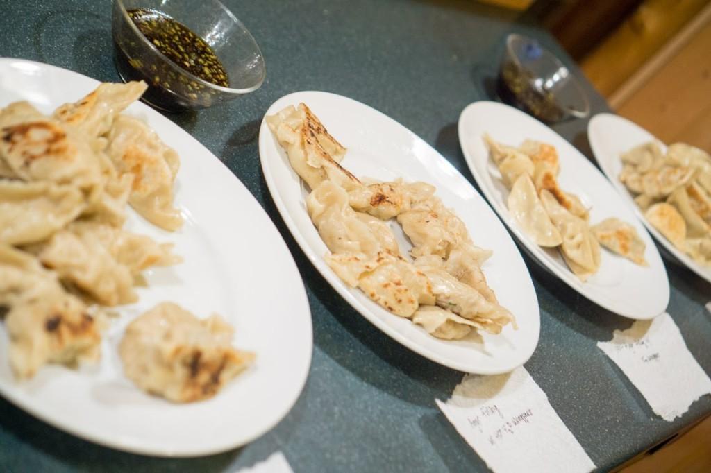 Dumpling taste-off!