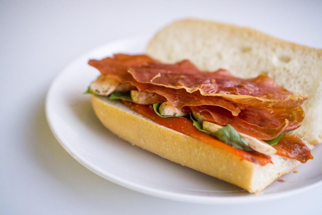 Crispy Prosciutto Sub Sandwiches