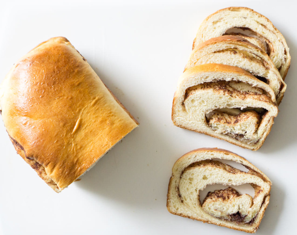 Japanese milk bread, sliced and ready for toasting or eating as is