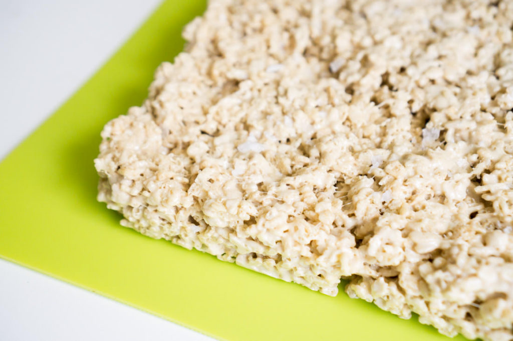 Salted Caramel Rice Krispy Treats