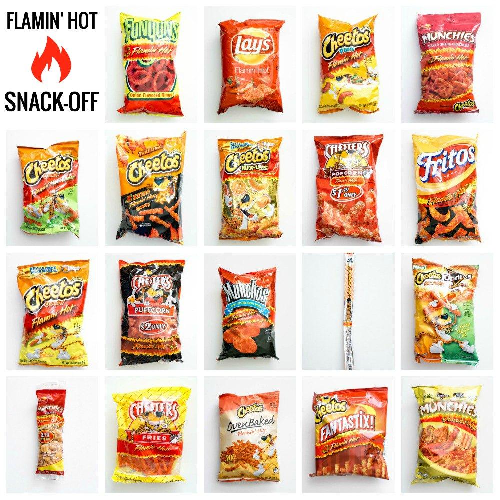 Flamin' Hot Frito Lay Products