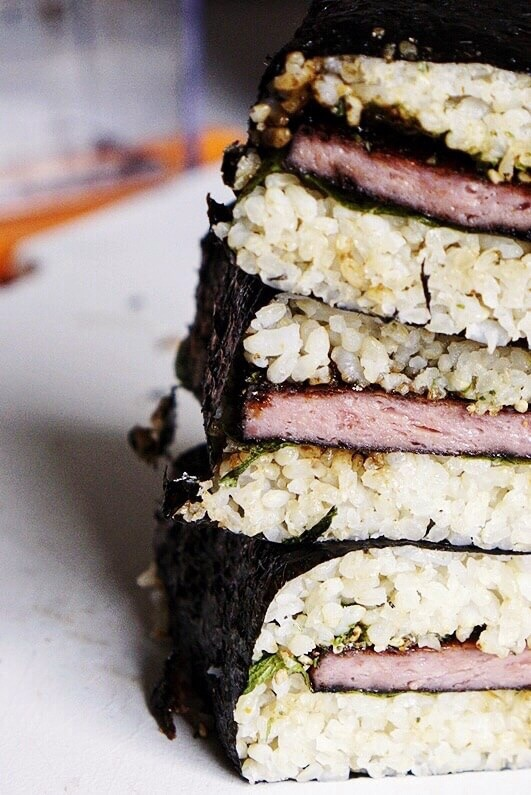 Spicy spam Musubi